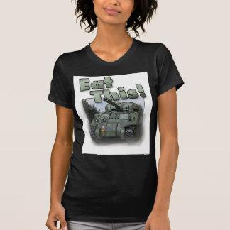 Tanque de Sherman - coma isto! Tshirts