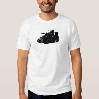 Tanque de Sherman T-shirts