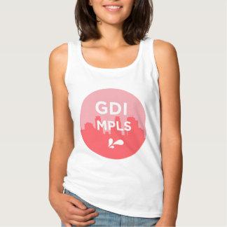 Tanque do logotipo de GDI MPLS Regata