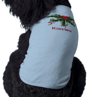 Tanque do visco camisa sem mangas para cachorro