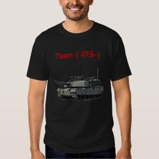 Tanque, equipe {- M3} Camiseta