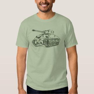 Tanque M4A3 de Sherman Camiseta