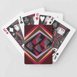 Tapeçaria separada baralho de cartas