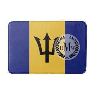 Tapete De Banheiro Bandeira de Barbados