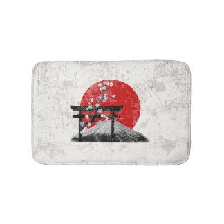 Tapete De Banheiro Bandeira e símbolos de Japão ID153