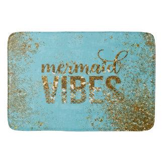 Tapete De Banheiro Tipografia do brilho do ouro das Impressões da