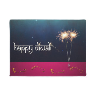 Tapete Diwali feliz Sparkling - Doormat