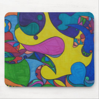 Tapete do rato abstrato do Doodle Mouse Pad
