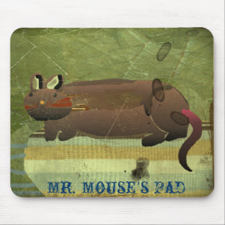 Tapete do rato (almofada do Sr. rato) Mouse Pad