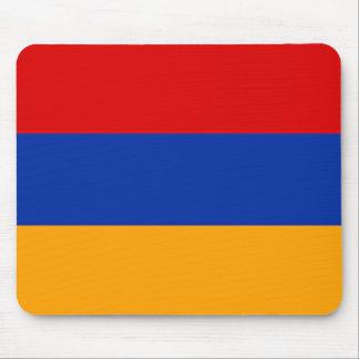 Tapete do rato arménio da bandeira mouse pad