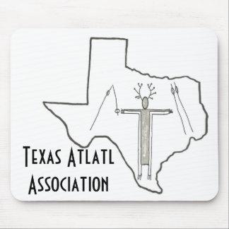Tapete do rato da associação de Texas Atlatl Mouse Pad