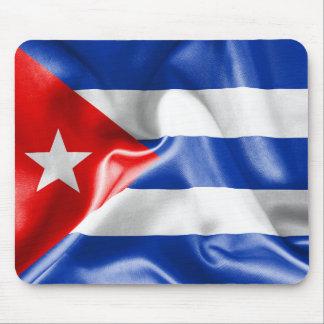 Tapete do rato da bandeira de Cuba Mouse Pad