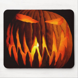 Tapete do rato da Jack-O-Lanterna Mouse Pad