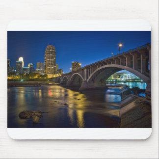 Tapete do rato da skyline de Minneapolis Mouse Pad
