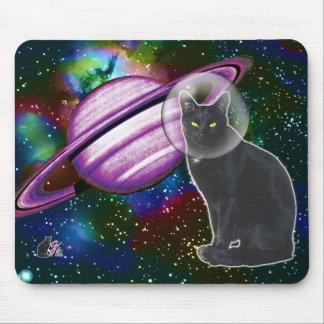 Tapete do rato de Cosmo do Espaço-Gato Mouse Pad