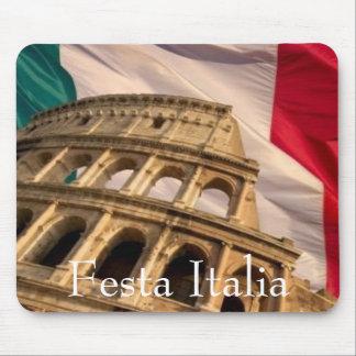 Tapete do rato de Festa Italia Mouse Pad
