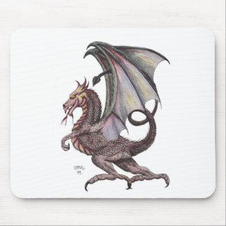 tapete do rato do dragão do fogo mousepads