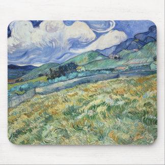 Tapete do rato montanhoso da paisagem de Van Gogh Mouse Pad