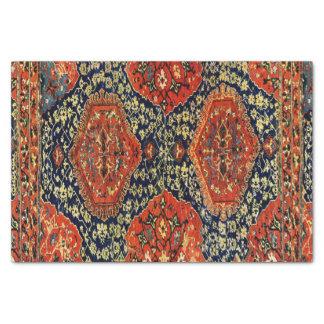 Tapete oriental no blue&orange papel de seda