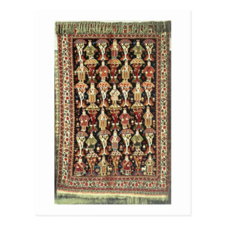Tapete persa, 19o-20o século cartão postal