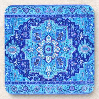 TAPETE PERSA - azul Porta-copo