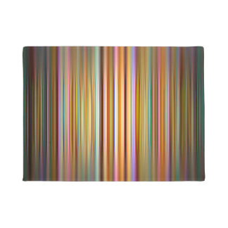 Tapete Teste padrão colorido das listras