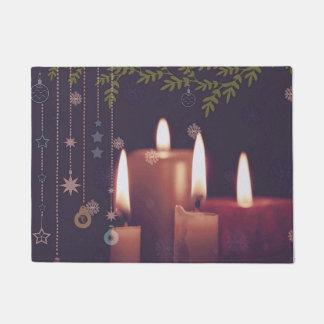 Tapete velas do Natal