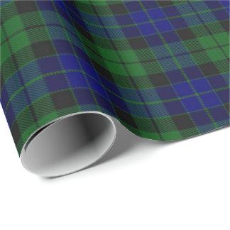 Tartan do Scottish de MacKay do clã Papel De Presente