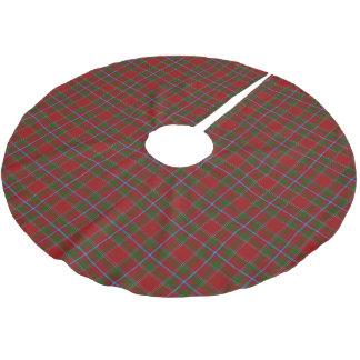Tartan escocês de Drummond do clã Cobertura Para Árvore De Natal De Poliéster