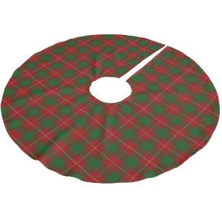 Tartan escocês de MacFie do clã Cobertura Para Árvore De Natal De Poliéster