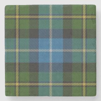 Tartan escocês velho de MacNeil do clã da taberna Porta Copos De Pedra