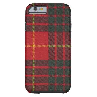 Tartan moderno do clã de Cameron do caso do iPhone Capa Tough Para iPhone 6