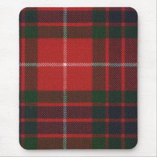 Tartan moderno vermelho Mousepad de Fraser