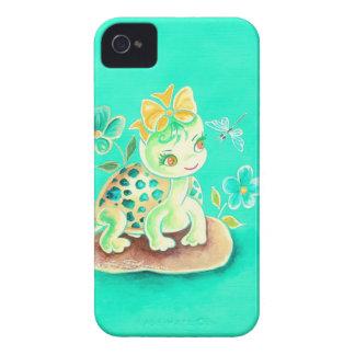 Tartaruga feminino capa para iPhone 4 Case-Mate