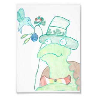 Tartaruga - impressão da foto 5x7