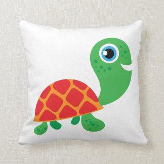 Tartaruga impressionante almofada
