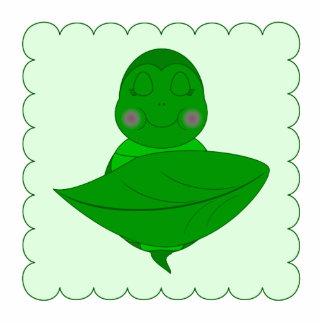 Tartaruga verde do sono escultura foto