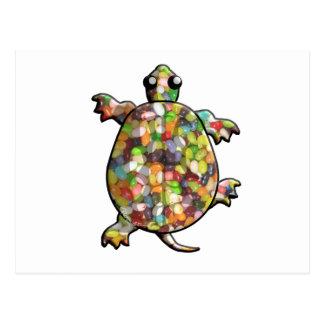 Tartarugas do feijão de geléia cartão postal