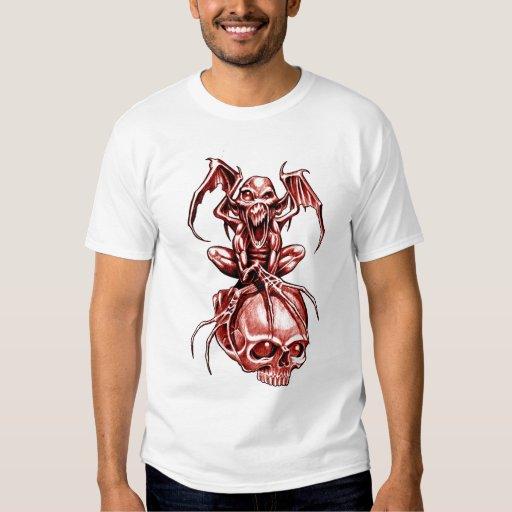 TATUAGEM da camisa RITON dos diabos vermelhos T-shirt
