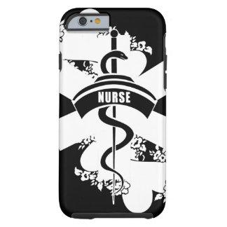 Tatuagem do coração da enfermeira capa tough para iPhone 6