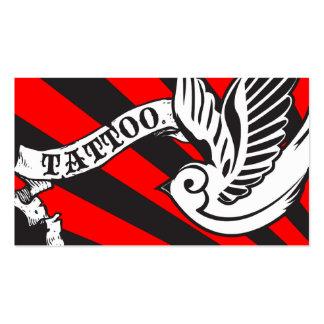 tatuagem do pardal cartão de visita