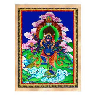 Tatuagem tibetano oriental legal de Ucchusma do Cartão Postal