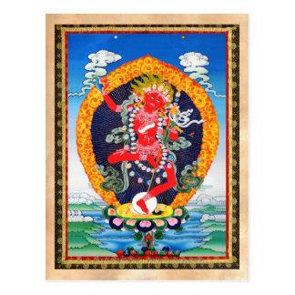 Tatuagem tibetano oriental legal Vajravarahi do Cartão Postal