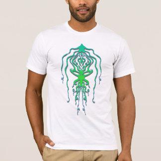 Tatuagem tribal do calamar do polvo camiseta