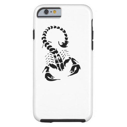 Tatuagem tribal do horóscopo do zodíaco da capa tough para iPhone 6