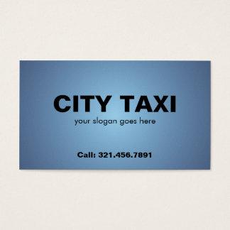 Táxi - cartões de visitas