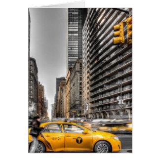 Táxis da Nova Iorque, Central Park Cartão Comemorativo