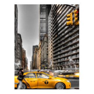 Táxis da Nova Iorque, Central Park Cartão Postal