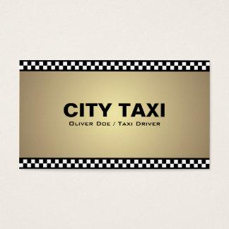 Taxista - cartões de visitas
