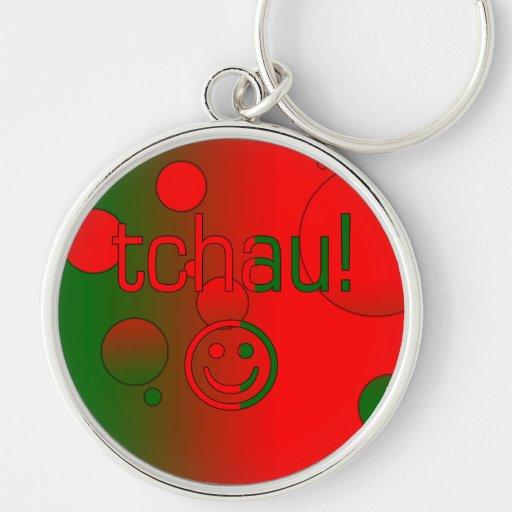 Tchau! A bandeira de Portugal colore o pop art Chaveiros
